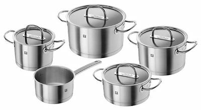 Zwilling Prime 64060-004-0 Pan Set 5 Pieces Suitable for Induction Cookers