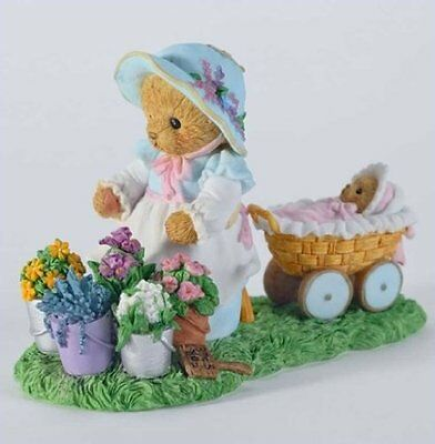 """Cherished Teddies CT1202 Bette """"Priceless Is A Friendship In Bloom"""" NEW"""