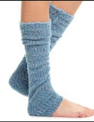 Free People Shakedown Leg Warmers Blue