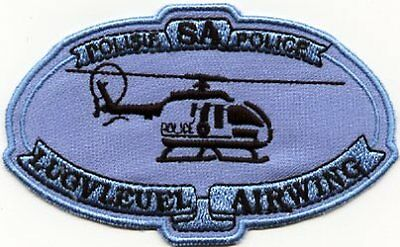 South Africa Police Force Air Wing Unit Patch Policia