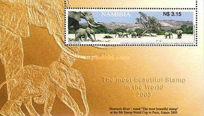 Namibia 2003 Winning Stamp of the Eighth Stamp World Cup. MNH