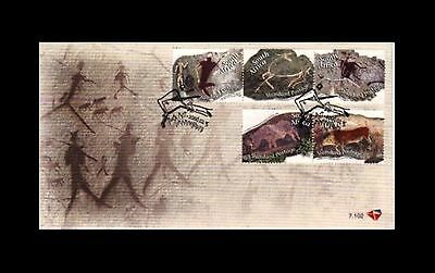South Africa 2006 Rock Art FDC