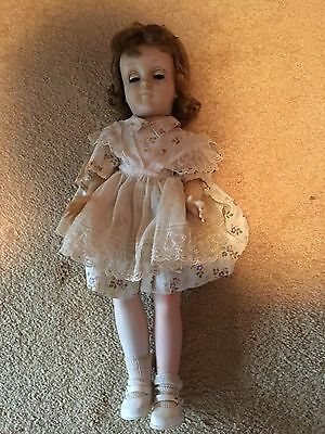 vintage 1950's Harriet Hubbard doll mk16  16 inch doll with clothes