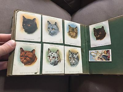 Set Of 69 Players Cigarette Cards In Cigarette Cards Album