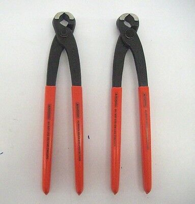 Knipex 99 01 220 8-3/4'' Concretor's Nippers 2 For $38.99