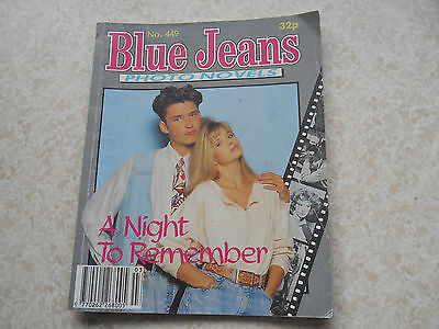Blue Jeans Photo Novel, # 449, A NIGHT TO REMEMBER