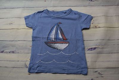 T-Shirt Next 12-18 80/86 82 blau mit Boot