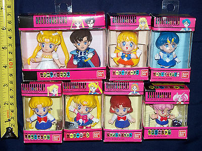Sailor Moon Sailor Cute set of 8 mini figure doll toy - NEW