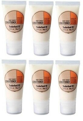 Box of 6 Timberland Boot Sauce Conditioner 50ml Bottle Shoe Care Protection