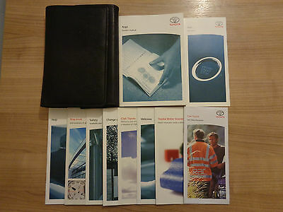 Toyota Aygo Owners Handbook/Manual and Pack 05-09