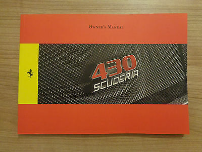 Ferrari 430 Scuderia Owners Handbook/Manual