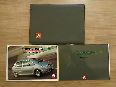 Citroen Xsara Picasso Owners Handbook Manual and Pack 00-05
