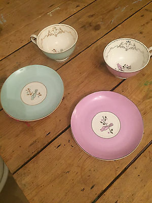 Bombay Duck tea cups and saucers great condition
