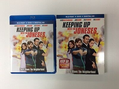 Keeping Up With the Joneses (Blu-ray + Digital HD) 2016 No DVD PLEASE READ