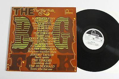 VARIOUS The Big Folk LP 1969 Fontana SFXL55 UK Press Jeremy Taylor, Corries