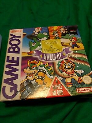 Game and watch gallery Box only