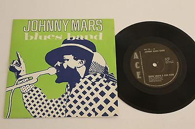 JOHNNY MARS BLUES BAND Born Under A Bad Sign EP 1981 Ace NS 73 UK Press pic slv
