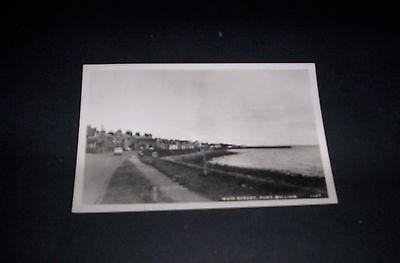 Main Street,port William,wigtownshire(Real Photo)Postcard