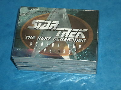STAR TREK 'The Next Generation' Season Two Complete Base Set of Trading Cards