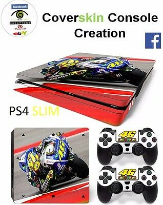 SKIN PS4 SLIM VR 46 Console COVER Protective Sticker controllers CONSOLE