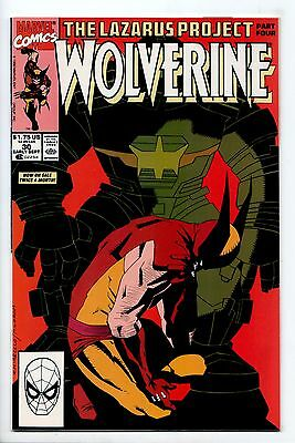 Wolverine #30 - The Lazarus Project Part 4 (Marvel, 1990) - NM
