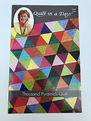 Quilt In A Day Thousand Pyramids Quilt Pattern By Eleanor Burns Usa