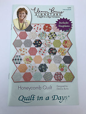 Quilt In A Day Honeycomb Quilt Pattern & Acrylic Template Eleanor Burns Usa