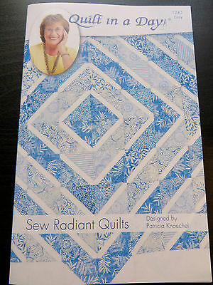 Quilt In A Day Sew Radiant Quilt Pattern By Eleanor Burns Usa