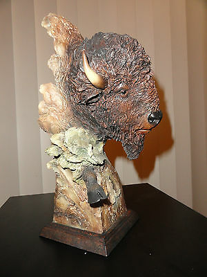 Dust & Thunder - Mill Creek Studios- Buffalo  statue / sculpture