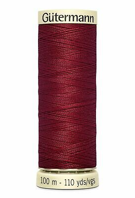 Gutermann Sew-all Thread 100m Colour 226 RED WINE, 100% Polyester