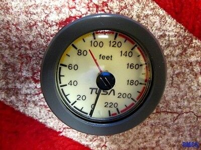 Scuba Diving Pre-Owned Tusa 230 Ft. Analog Depth Gauge Module Excellent!!!!
