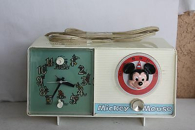 General Electric Youth Electronics Mickey Mouse  Radio and Alarm Cloock