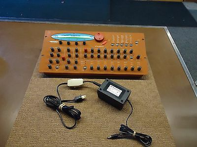 Waldorf Microwave XT Synthesizer With Waldorf AC Power Supply **LOOK**
