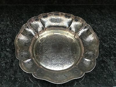 Silver Plated Dish Or Fruit Bowl