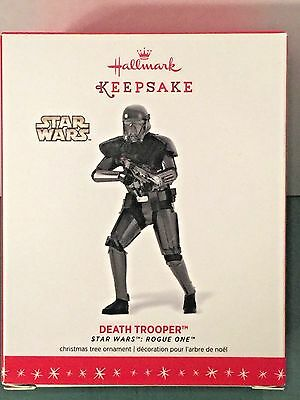 NEW - Hallmark Star Wars 2016 DEATH TROOPER Christmas Ornament ROGUE ONE