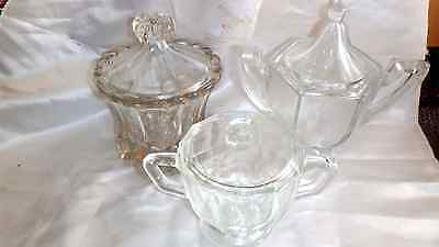 Glass Sugar bowls
