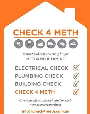 Meth SURFACE testing kits! Instant results, accurate and easy to use!!!