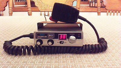 Sbe Tahoe 40 40 Channel Cb Radio With Microphone