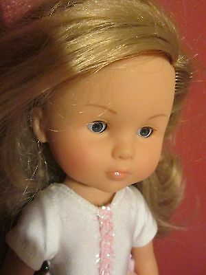"Beautiful Corolle 13"" Doll  Blonde Hair  Blue Eyes Ballet Outfit 2001  01  J10B"