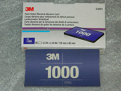 New Choice 3M 33891 33894 33897 33900 33903 Paint Defect Removal Abrasive Card