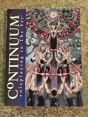Continuum: Roleplaying in the Yet. Core RPG Rule Book. Aetherco.