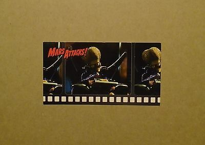 Mars Attacks Movie, Topps Widevision unnumbered promo card from 1996.