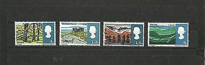 Great Britain 1966 Landscapes PHS MNH