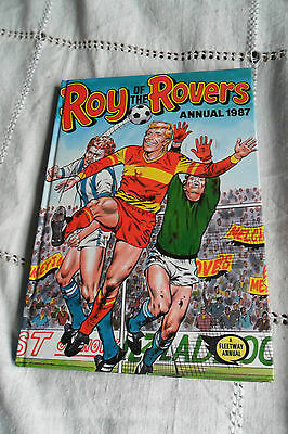 ROY OF THE ROVERS ANNUAL 1987, 127 pages, FREE U.K. P&P