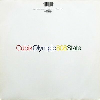 """808State - Cubic / Olympic 12"""" Single"""