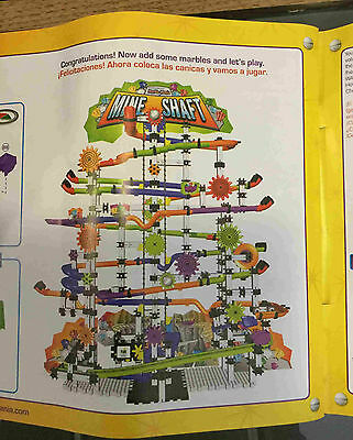 Marble Mania Mine Shaft 400 Piece Techno Gears Construction Game Kit 8+ Years