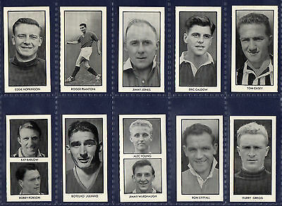 Thomson WORLD CUP FOOTBALLERS - 1958 SET