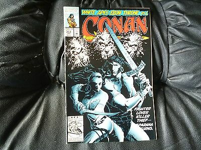 Conan the  Barbarian #  264 in nice condition  but for slight damp problem
