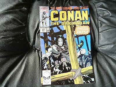 Conan the  Barbarian #  236 in nice condition  but for slight damp problem