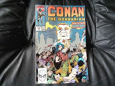 Conan the  Barbarian #  235 in nice condition  but for slight damp problem